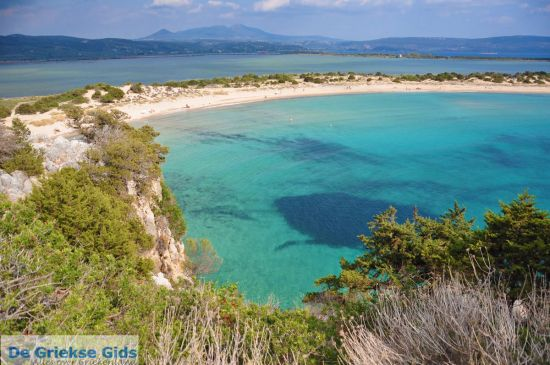 Voidokilia zandstrand Peloponnesos
